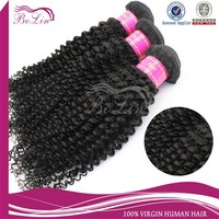 New Fashion Black Women Natural Color Unprocessed Remy Hair Extension Malaysian Virgin Afro Kinky Human Hair