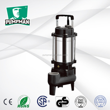 WQD-S 2015 PUMPMAN new good performance 1hp domestic electric centrifugal submersible sewage stainless steel water pumps