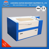 working area 300*500mm cheap laser engraving machine/ laser engraving and cutting machine