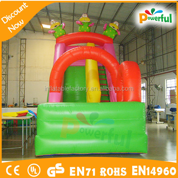 Large Amusement Park Inflatable Water Slide meet European countries