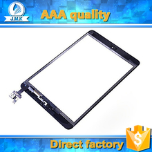 For iPad mini1 mini2 digitizer, touch screen assembly with home button IC for ipad mini 1 2