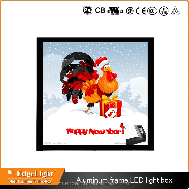 aluminum snap poster frame picture frame advertising decoration display light box