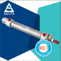 MA MINI Stainless Steel Double Acting Pneumatic Cylinder Stroke 1000 mm