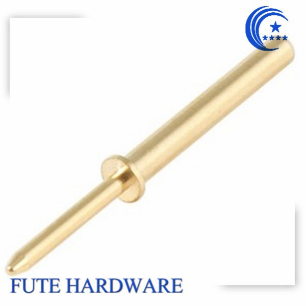 Precision Brass Gold Plated Pogo Pin Connector, Test Pogo Pin, Spring Loaded Pogo Pin