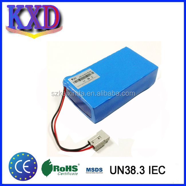 Lithium ion battery pack 60v 12ah electric scooter battery