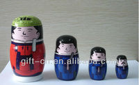 Traditional Chinese elements( zhuang yuan) Nesting Dolls