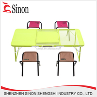 Outdoor extendable aluminum folding table