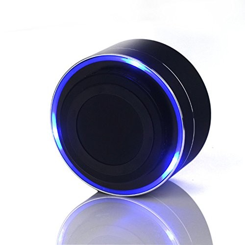 aluminum alloy A10 bluetooth portable speaker with led light