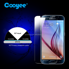 Anti spy For samsung s6 glass screen protector