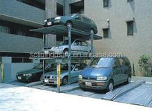 Customizable For SUVs Full Range Anti-fall Ladders smart car stack parking system