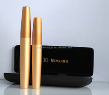 Factory direct sale Thickening and Lengthening Black Mascara with Natural Fibres with Black Display Case