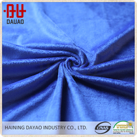Bedding and blanket use blue velboa fabric