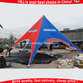 Outdoor aluminum Star Tent / Star shelter/Star shade tent for advertising