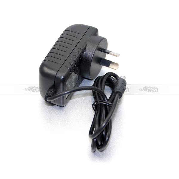 high quality Black adapter with Australian plug 12V