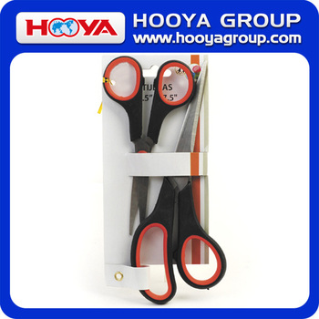2pcs stainless steel school student scissors