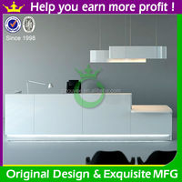 High quality modern office front counter design for sale