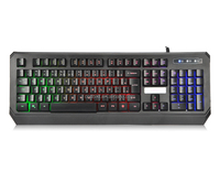 the professional LED pc keyboard perfect for gaming and typing