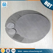 0.5 10 15 20 30 60 90 100 Micron porosity sintered stainless steel filter disc
