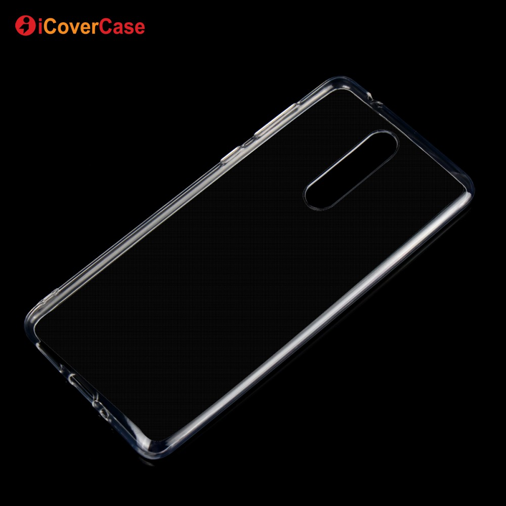 Cellphone Back Cover Clear Transparent Soft TPU Silicon Gel Cover Case For Nokia 9 Phone Shell Bag