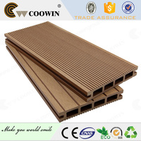 New tech extrusion wpc crack-resistant wood composite decking