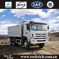 Hot sale diesel 40 ton tipper 10 wheel dump truck capacity