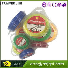 Garden tool spare parts cheap grass string trimmer nylon line with blister packing