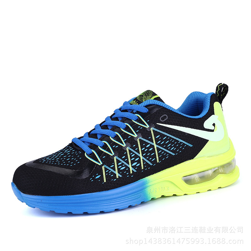 Men's running shoes women's trendy mesh sneakers air cushioned shoes for men
