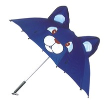 Specialized 3D design 170T polyerster straight cheap kids umbrella