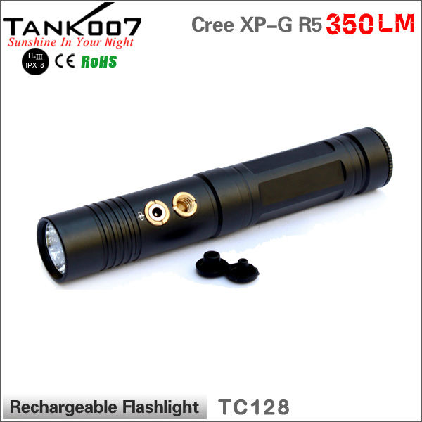 Magnetic small size LED Flashlight with diffuse SOS function 18650 <strong>battery</strong> powered
