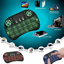 i8 Backlight 2.4G Wireless Mini Keyboard w/ Touchpad for Smart TV Android Box PC