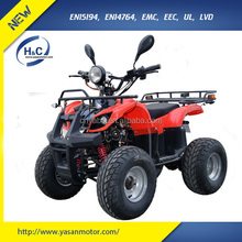 EEC 4 wheel electric atv/quad/quad bike/motorcycle for adults