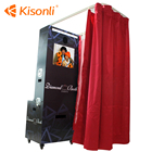 Kisonli Photo Booth with Touch screen, printer, camera photo kiosk for Wedding