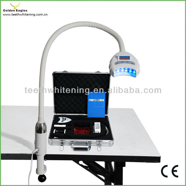 Portable spa / beauty salon laser teeth whiten machine LED Teeth whitening lamp table unit