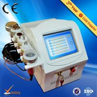 CE approved Portable 5 IN 1 fat melting machine with Cavitation RF