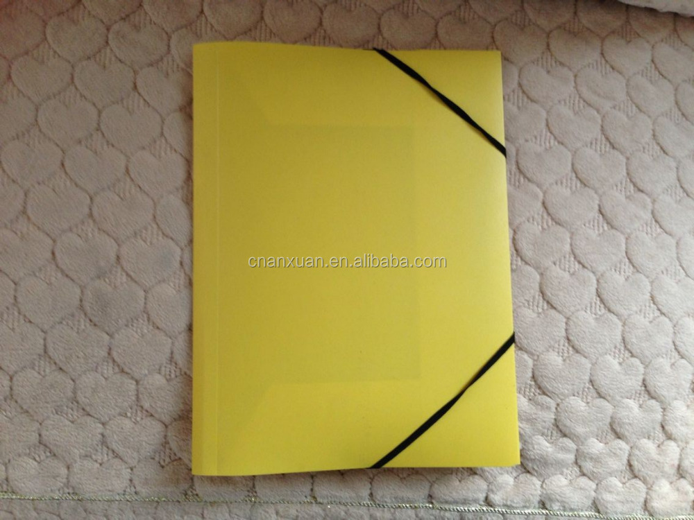 elastic expanding file folder with flap