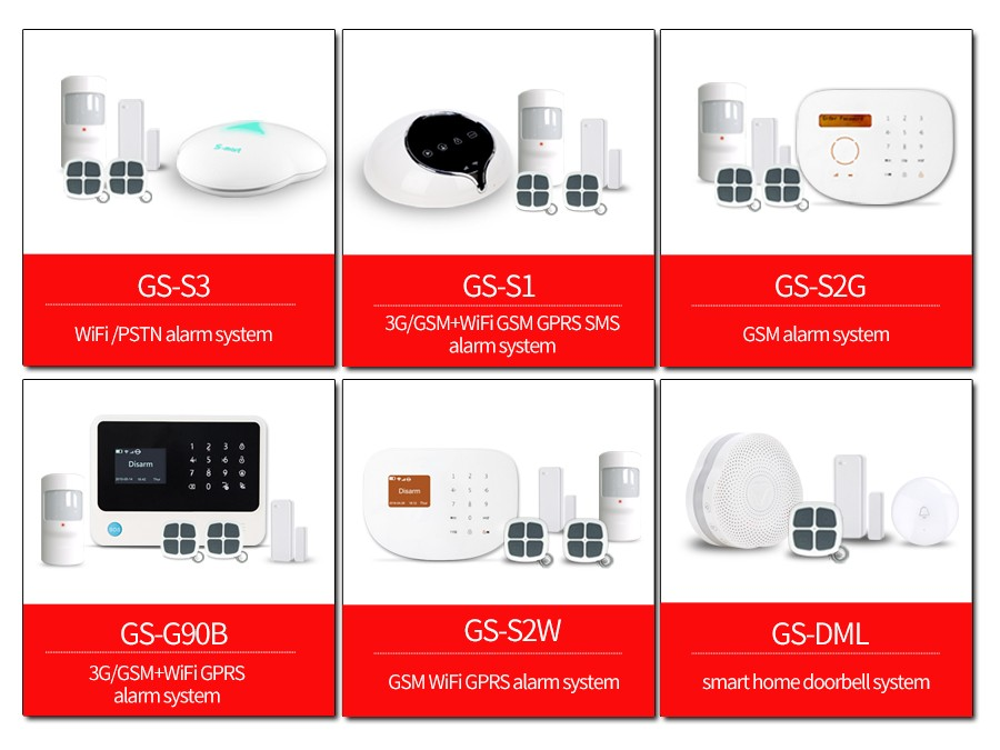 Golden Security new design high quality waterproof outdoor siren