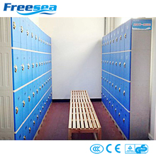 Colorful good quality practical 4 compartment locker with lock