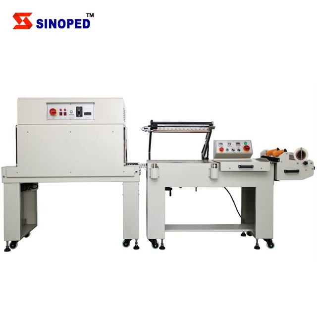 BTL-450A+BM-500 Semi-auto L type shrink packaging machine