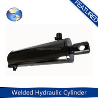 Heavy duty double acting hydraulic cylinder for marine use