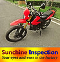 Quality inspection serviec for Motorcycles