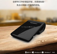 Foldable Bluetooth Wireless Mouse Super Thin High-end Arc Touch Laser Mini 2400DPI Bluetooth Mouse For Official Gifts