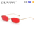 GUVIVI small Square Sunglasses for men male Metal frame yellow red vintage small steampunk sunglasses sun glasses for women 2018
