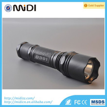 2017 emergency powerful led rechargeable flashlight, mini police led torch