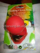 mask clown nose latex 100% pure nature latex ,rubber products