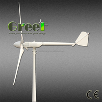 HOT! small 1kw 2kw 3kw horizontal axis wind generator price, windmills for electricity