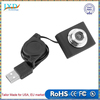 Mini USB 5M Retractable Clip WebCam