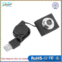 Mini USB 5M Retractable Clip WebCam Web Camera Laptop 100% Brand New
