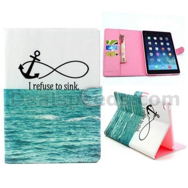 Magnetic Flip Stand PU Leather Case for iPad Mini 1/2/3