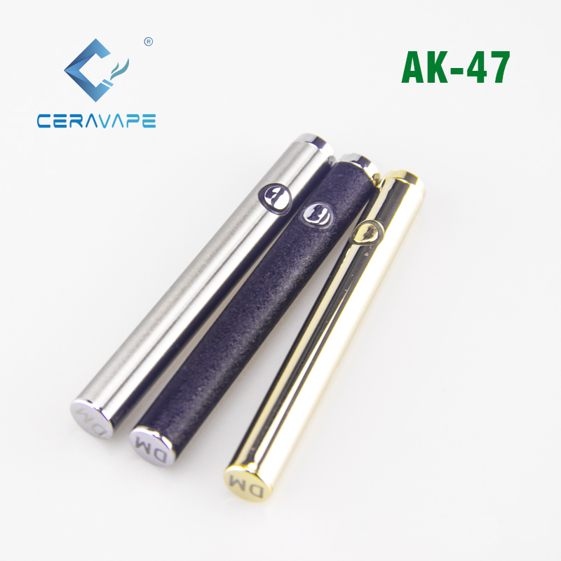 wholesale mini vape pen battery and charger 350mAh preheating battery from CeraVape