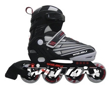High quality 4 color extreme game sport skate shoes,land roller skate shoes